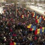 Десятки тысяч протестантов в Кишиневе требуют отставки правительства