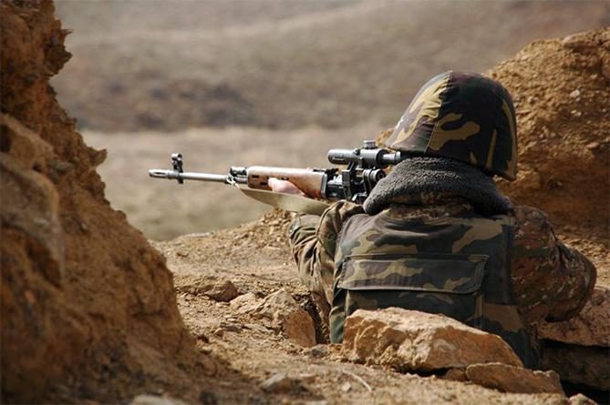 Подразделения ВС НКР уверенно защищают боевые позиции.