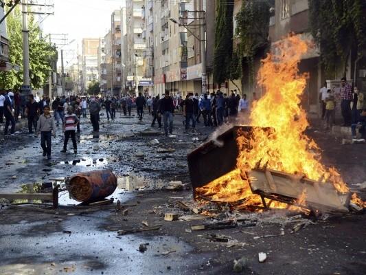 Восстание курдов