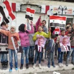 Гуманитарная операция в армяно-сирийском Кесабе: радость жителей, флаги России и САР