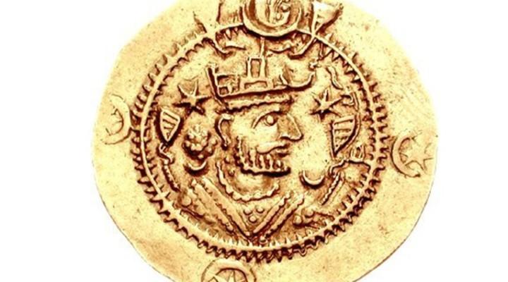 Золотая монета Кавада