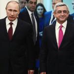 Путин и Саргсян: мы привержены мирному решению конфликта