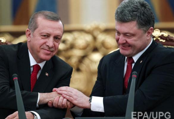 Порошенко и Эрдоган