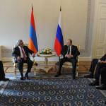 Путин и Саргсян обсудили ситуацию в Карабахе