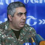 Press secretary of the RA Minister of Defense Artsrun Hovhannisyan gave a press conference within the framework of the two-day training for media representatives in Tavush Province, Armenia