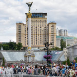В Киеве генерала Ватутина поменяли на эсэсовца Шухевича