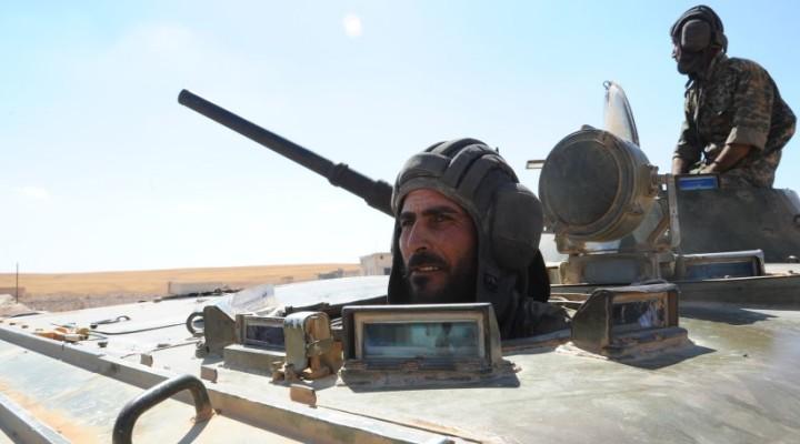 Ситуация в сирийской провинции Хама