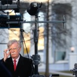 U.S. National Security Adviser John Bolton gives an interview to Fox News outside of the White House in Washington, U.S., March 5, 2019. REUTERS/Leah Millis