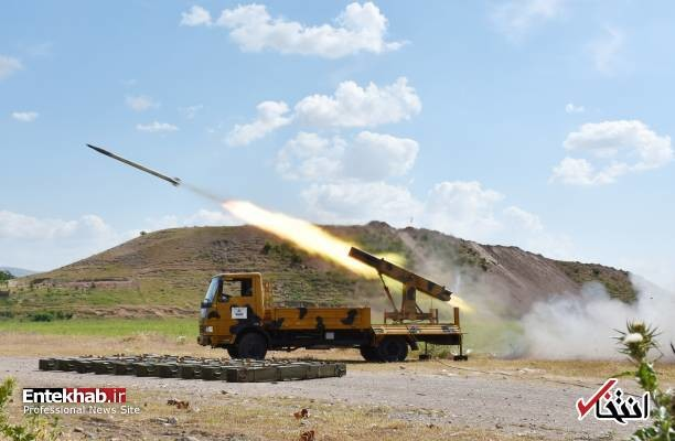 ALEPPO, SYRIA - MAY 09: A missile vehicle of Free Syrian Army (FSA) launches a missile to hit the points of Assad regime and terror groups in Aleppo to retaliate against YPG/PKK attacks in Idlib de-escalation zone, on May 09, 2019, Aleppo, Syria.  (Photo by Hisam el Homsi /Anadolu Agency/Getty Images)