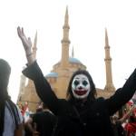Маска Джокера в массовых протестах 2019 года