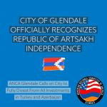 Глендейл признал независимость Арцаха