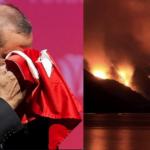 Турция: борьба с пожарами, чай от Эрдогана и «курдский заговор»